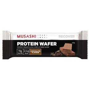 Musashi Protein Wafer Chocolate Bar 40g