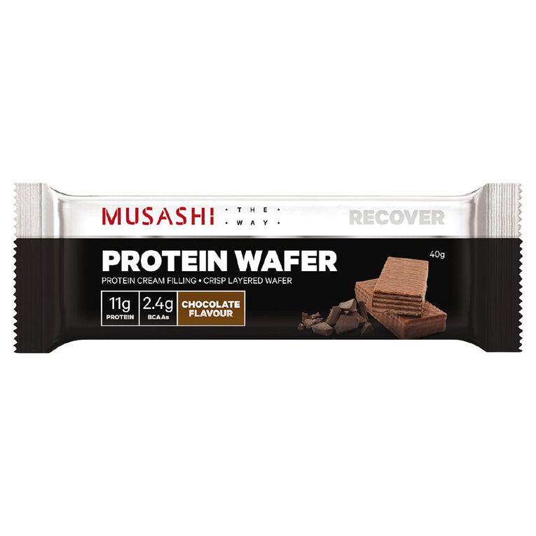 Musashi Protein Wafer Chocolate Bar, , hi-res