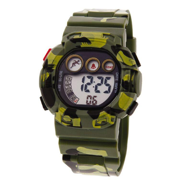 Active Intent Men's Sports Digital Watch, , hi-res