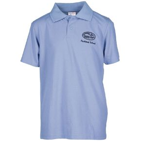 Schooltex Poukawa Short Sleeve Polo with Embroidery