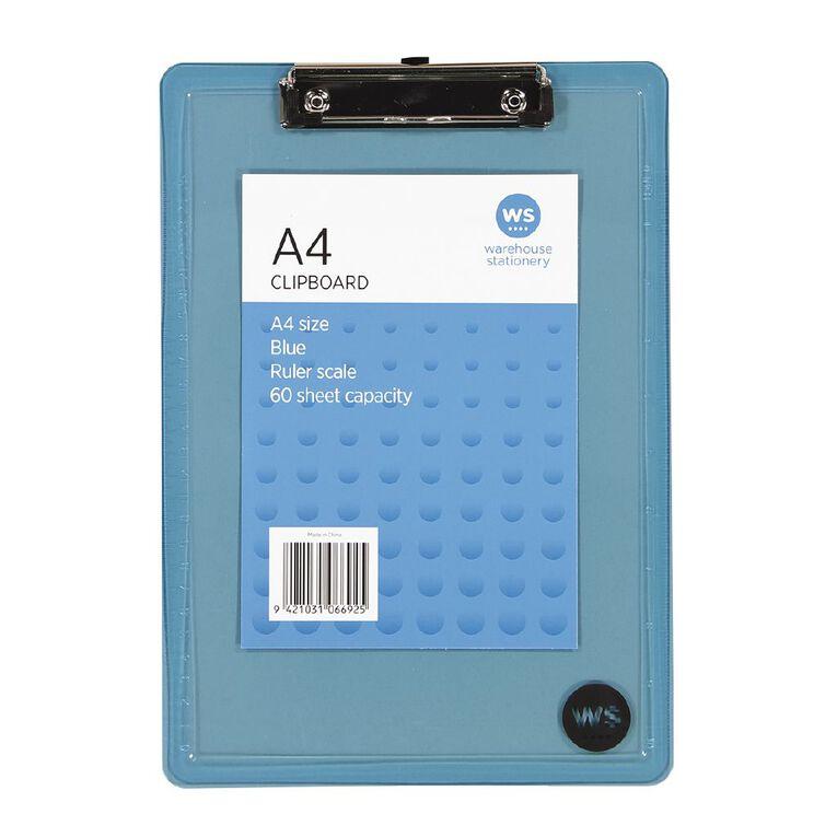 WS Clipboard Blue A4, , hi-res