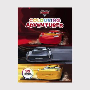 Cars Colouring Adventures