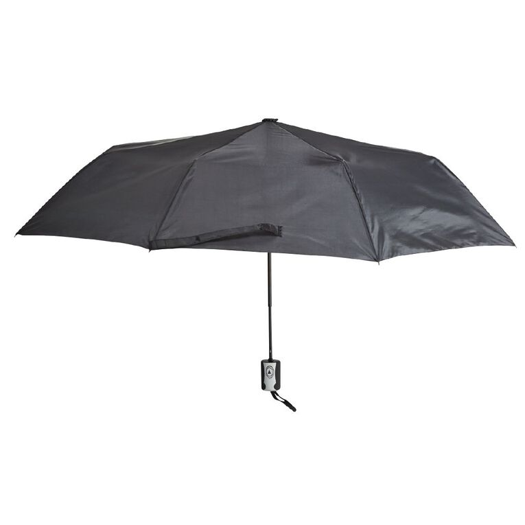 H&H Women's Mini Fashion Umbrella, Black WNT20, hi-res