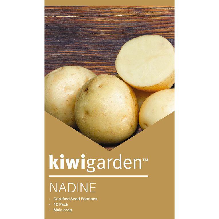 Kiwi Garden Seed Potato Nadine 10PK, , hi-res