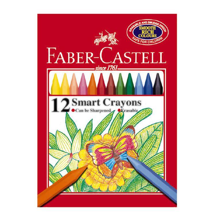 Faber-Castell Crayons Smart 12 Pack, , hi-res