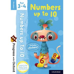 Numbers up to 10 Age 3-4 by Oxford University Press