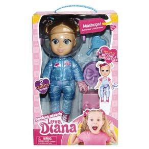 Love Diana Mashup Astronaut / Hairdresser Doll 13 Inch