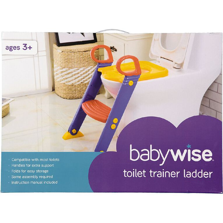 Babywise Toilet Step Ladder, , hi-res