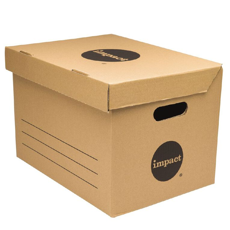 Impact Archive Box Kraft, , hi-res