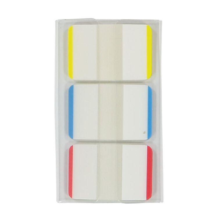 WS Coloured Sticky Tabs 25mm x 38mm 22 Sheet 3 Pack, , hi-res