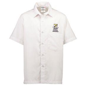 Schooltex Onewhero Area School Short Sleeve Shirt with Embroidery