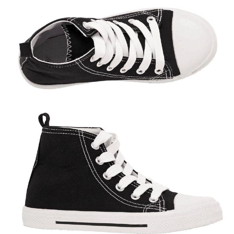 Young Original Boys' Finn 2 Shoes, Black WHT, hi-res