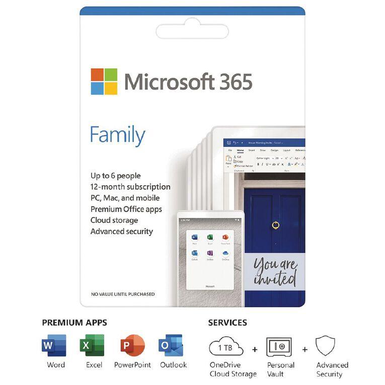 Microsoft 365 Family, , hi-res