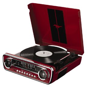 ION Mustang LP Turntable Red