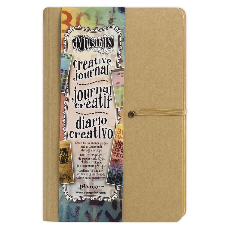 Ranger Dylusions Creative Journal Small, , hi-res