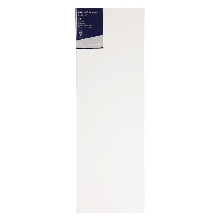 Uniti Platinum Canvas 12x36 Inches 380Gsm, , hi-res