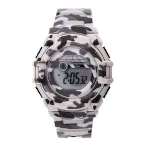 Active Intent Sports Kids' Digital Watch Camou Grey