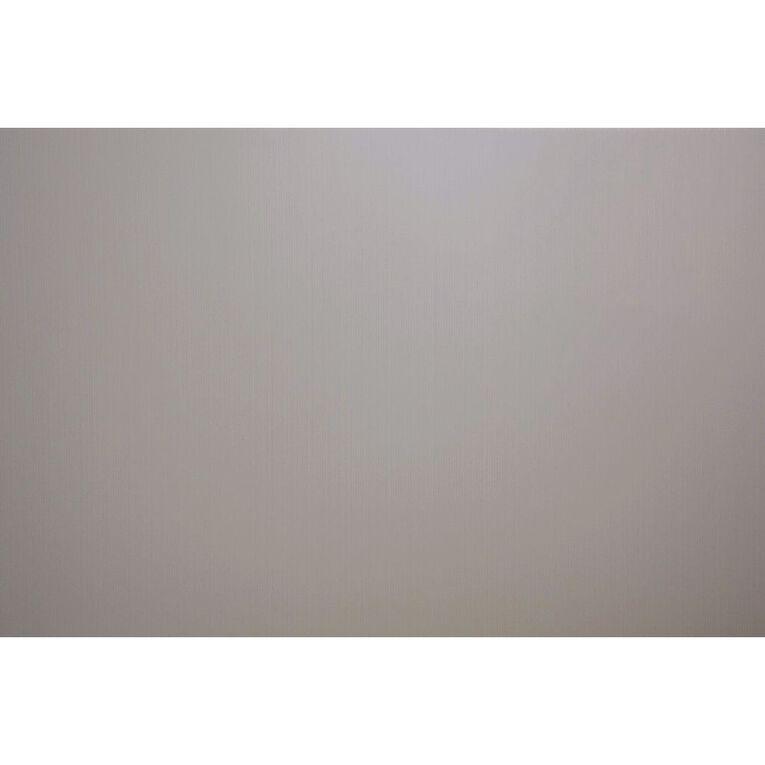 Plasti-Flute Sheet 600mm x 450mm Silver, , hi-res
