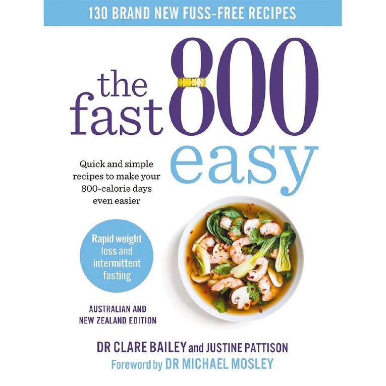 The Fast 800 Easy by Dr Clare Bailey, , hi-res