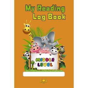 GT My Reading Log Book Orange