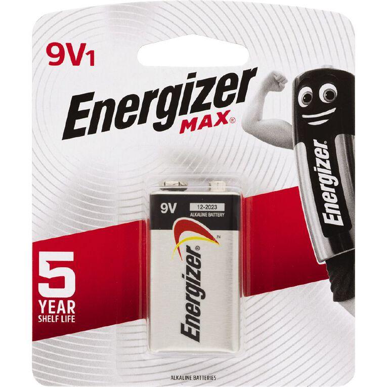 Energizer Max Batteries 9 Volt, , hi-res