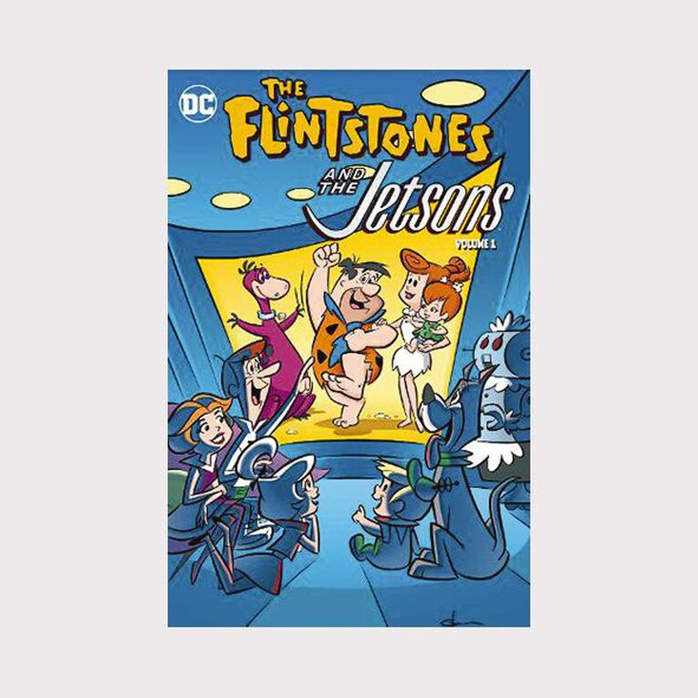 The Flintstones & The Jetsons by Mike Carlin, , hi-res
