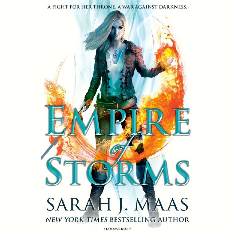 Throne of Glass #5 Empire of Storms by Sarah J Maas, , hi-res