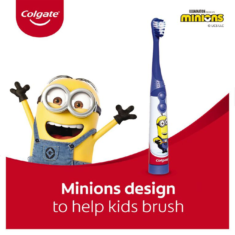 Colgate Sonic Power Toothbrush Kids Minions, , hi-res image number null