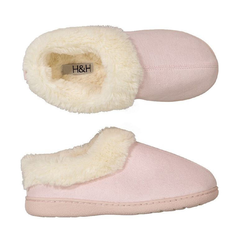 H&H Memory Sucff Slippers, Pink W21, hi-res image number null