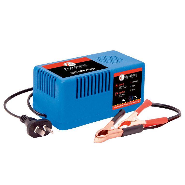Autohaus Battery Charger AHBC-2M Manual 6V/12V 2.0amp, , hi-res