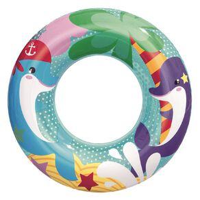 Bestway Sea Creatures Swim Ring Assorted