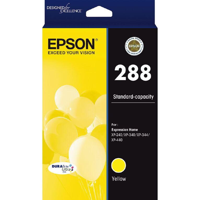 Epson 288 DURAbrite Ink Yellow (165 pages), , hi-res