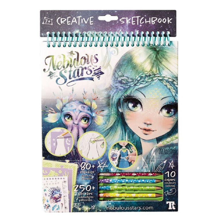 Nebulous Stars Creative Sketchbook Assorted, , hi-res