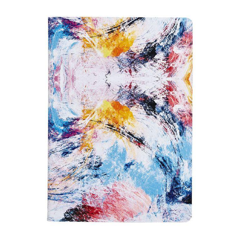 Uniti Fun & Funky Notebook Stitched Splash Multi-Coloured A5, , hi-res