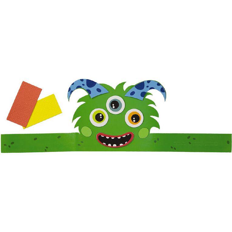 Kookie Make Your Own Monster Hat Kit, , hi-res