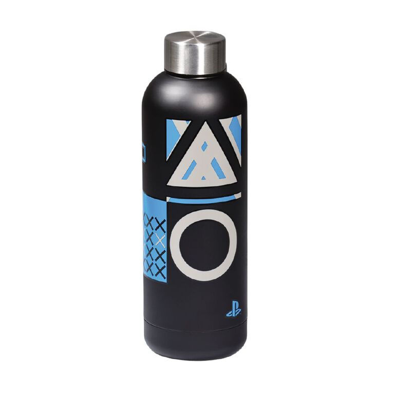 Official PlayStation Core Metal Water Bottle, , hi-res