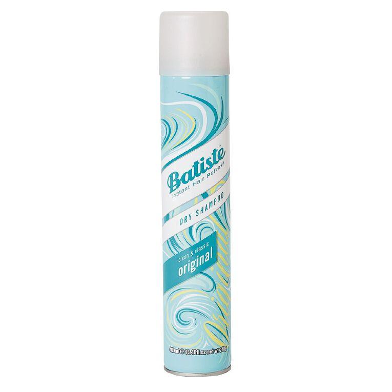 Batiste XL Dry Shampoo Original 400ml, , hi-res