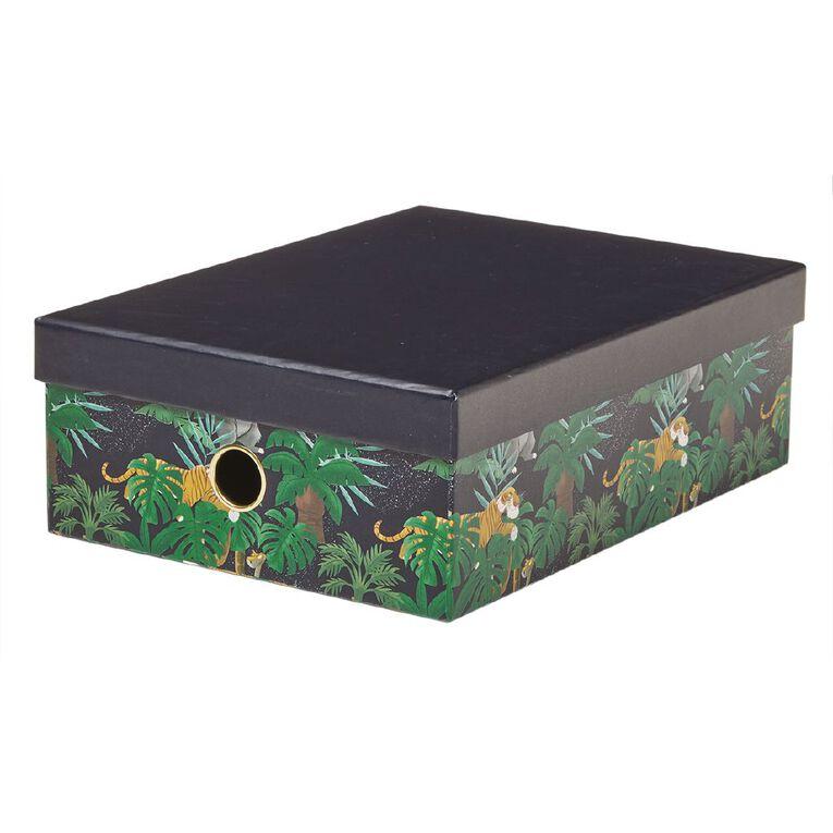 Disney Jungle Book Storage Box Navy A4, , hi-res image number null