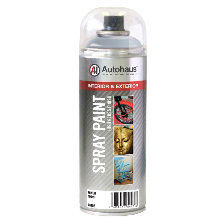 Autohaus Spray Paint Silver 400ml, , hi-res