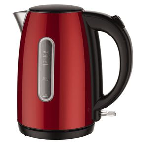 Living & Co Kettle Red 1.7 Litre Red