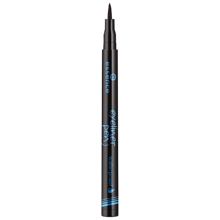 Essence Eyeliner Pen Waterproof 01, , hi-res