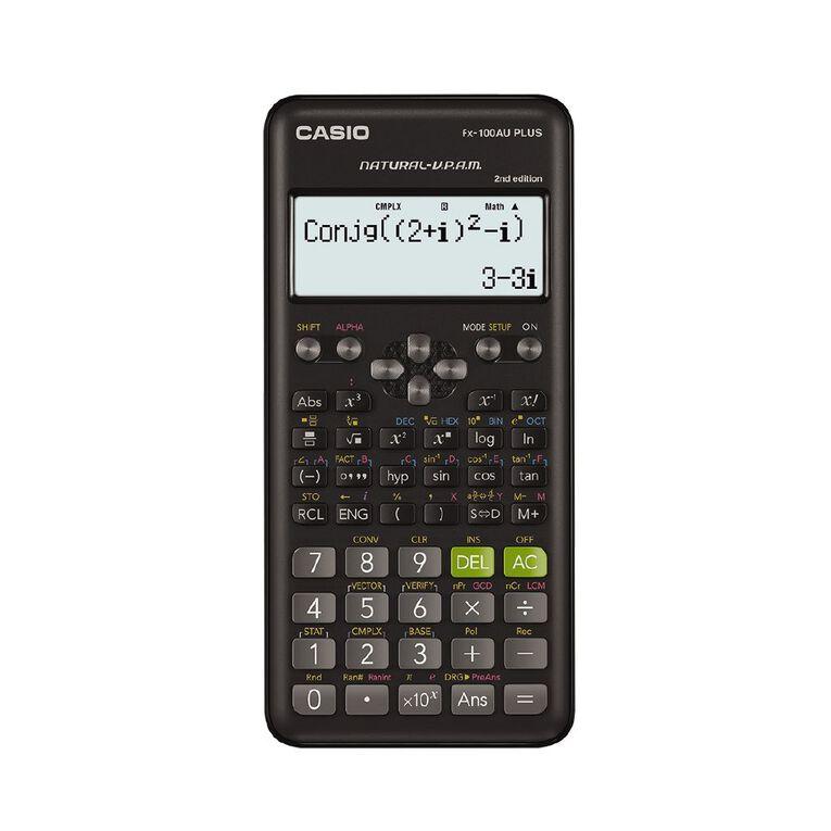 Casio FX100AUPLUSII2 Scientific Calculator, , hi-res