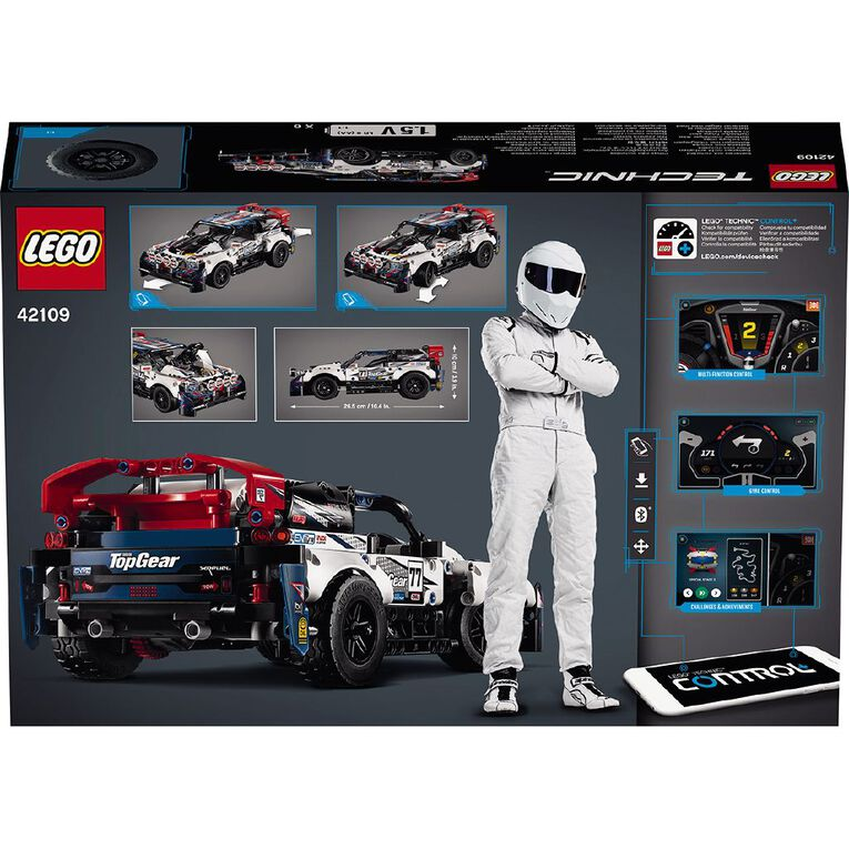 LEGO Technic Power Functions App-Controlled Top Gear Rally Car 42109, , hi-res