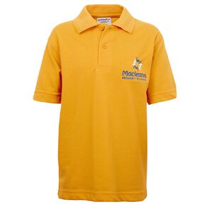 Schooltex Maclean Short Sleeve Polo with Embroidery