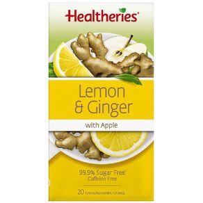 Healtheries Lemon & Ginger 20s Tea