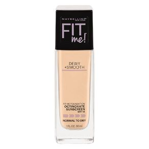 Maybelline Fit Me Dewy & Smooth Luminous Liquid Foundation Classic Ivory
