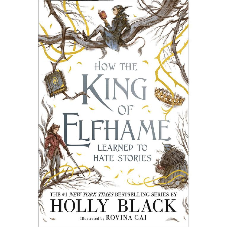 Folk of the Air: How the King of Elfhame Learned to Hate Stories, , hi-res