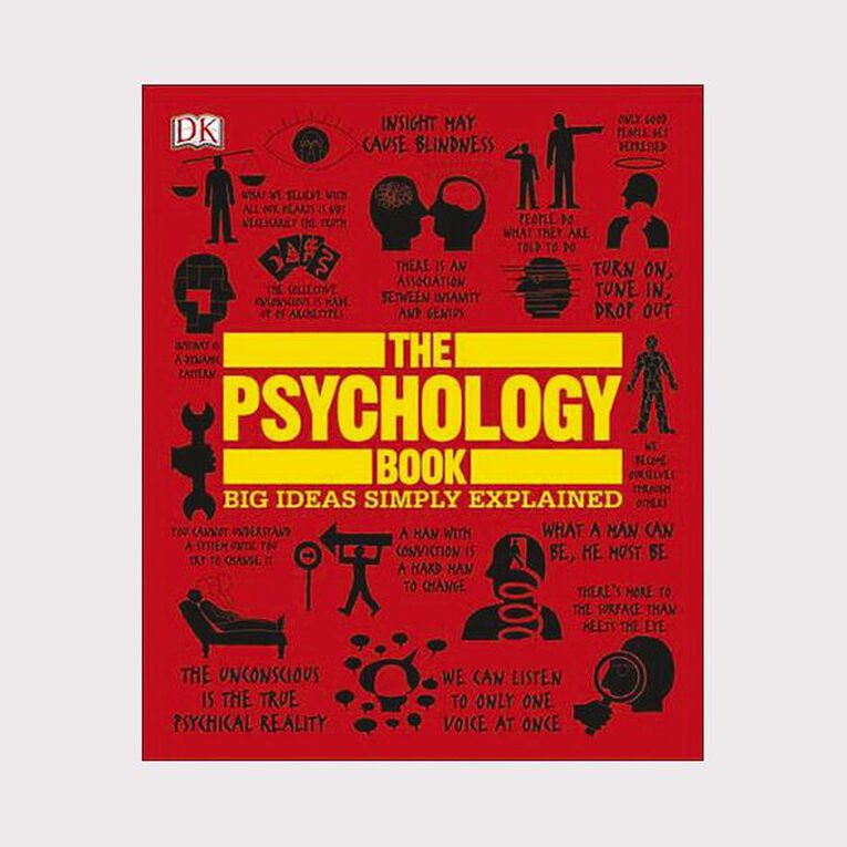 The Psychology Book: Big Ideas Simply Explained, , hi-res