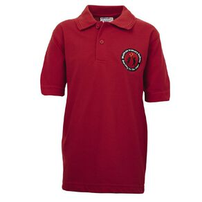 Schooltex Waltham Short Sleeve Polo with Embroidery