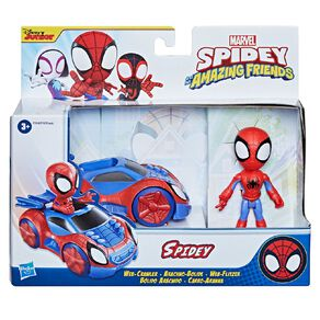 Spider-Man Spidey and Friends Vehicle And Figure Assorted